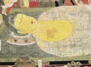 釈迦涅槃図絵(高野山)