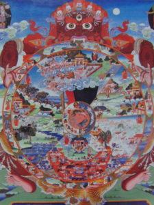 生死輪図(チベット)